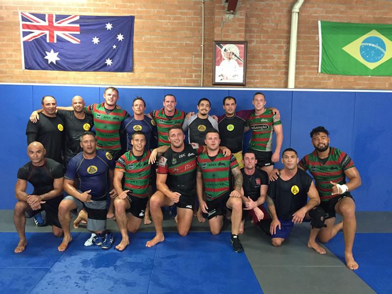 south sydney rabbitohs at gracie jiu jitsu