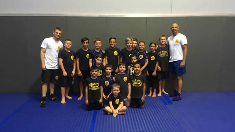 kids wrestling gracie smeaton grange