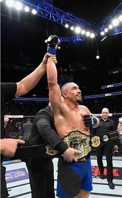 robert whittaker ufc champion gracie instructor