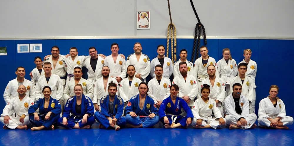 gracie brazilian jiu jitsu smeaton grange group photo