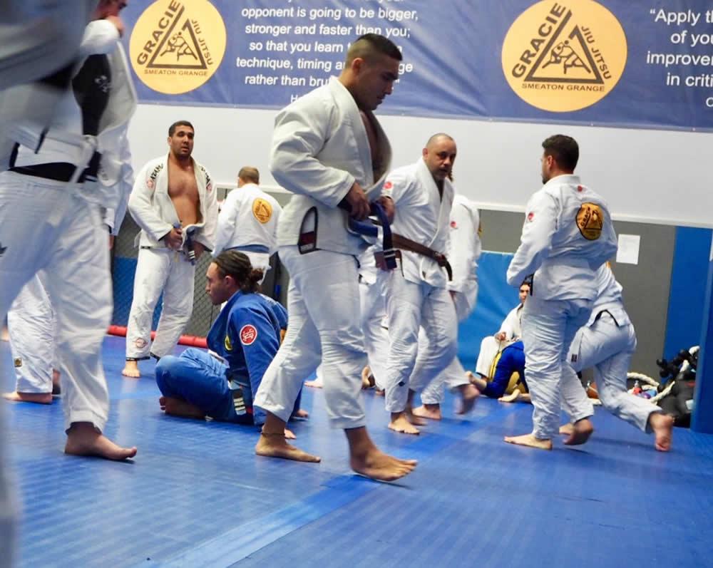 gracie brazilian jiu jitsu smeaton grange training