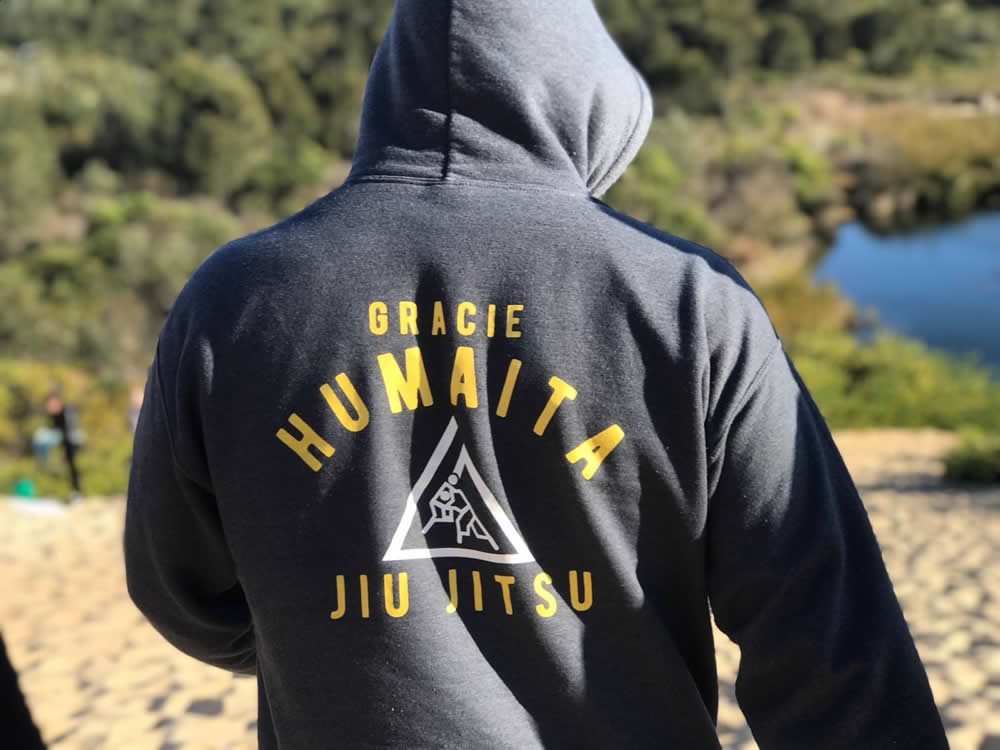 gracie humaita jiu jitsu hoodie